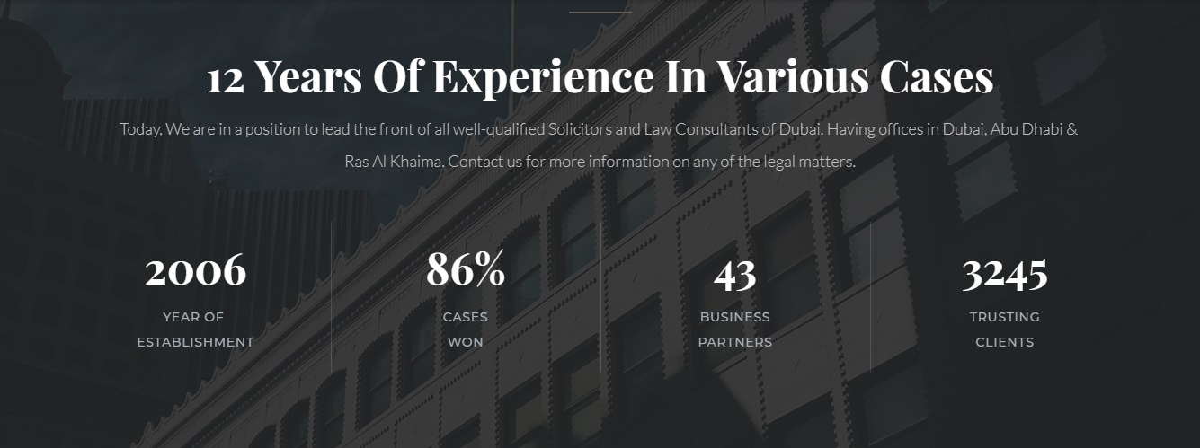 Law Firms & Corporate Lawyers Dubai